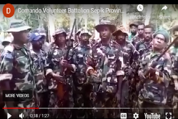 Batalion Sepik Siap Perang dengan Indonesia, Ini Respons Resmi PNG