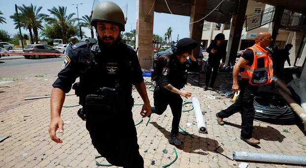Yerusalem Membara, Dua Wanita Tewas dalam Serangan Roket Palestina di Israel