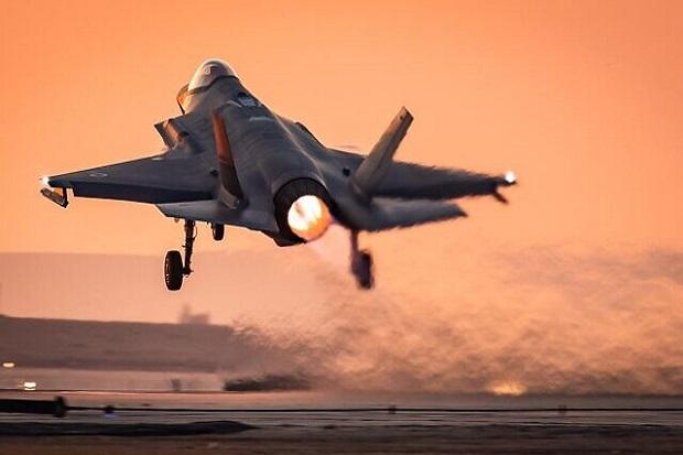 Sebanyak 80 Jet Tempur Israel Termasuk Jet Siluman F-35 Bombardir Gaza