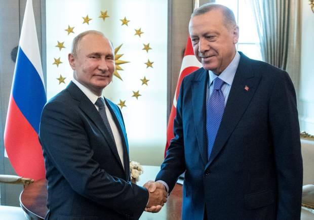 Erdogan dan Putin Bahas Agresi Israel, Turki Siap Intervensi