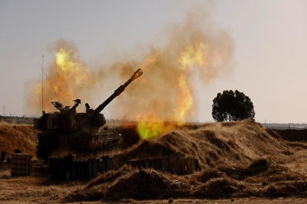 Israel Juga Gempur Gaza dari Darat, Perang Semakin Besar