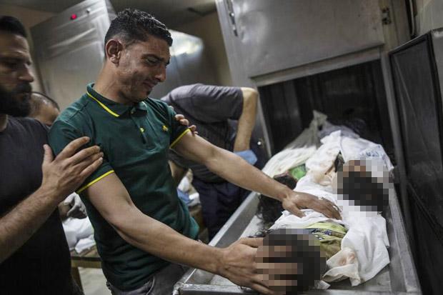 Israel Gempur Gaza Lewat Darat dan Udara, Korban Tewas Meningkat Jadi 119