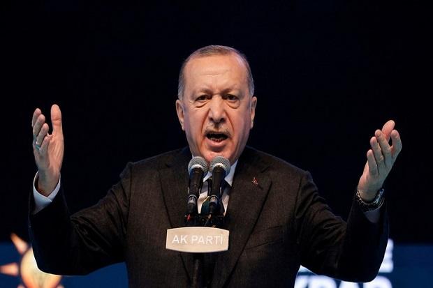 Erdogan: Negara Teroris Israel Harus Dihentikan, Mereka Melewati Semua Batas