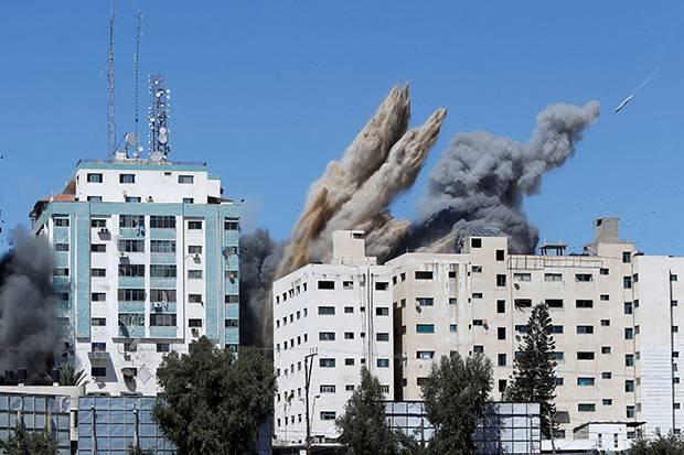 Organisasi Jurnalis AS Duga Serangan Gedung Media Adalah Upaya Israel Tutupi Kebusukan Mereka