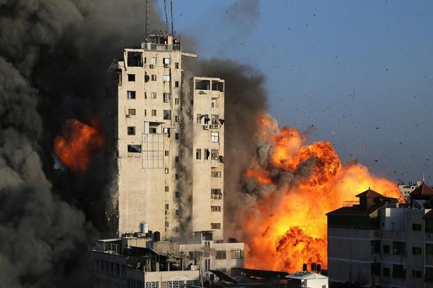 Palestina Dibombardir Israel, Jurnalis CNN: Dunia Saat Ini Butuh Hitler