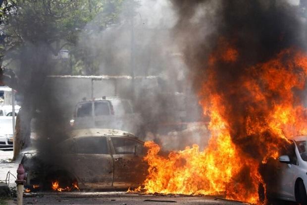 Iran di Balik Hebatnya Rudal Hamas Bobol Iron Dome Israel dan Jangkau Tel Aviv