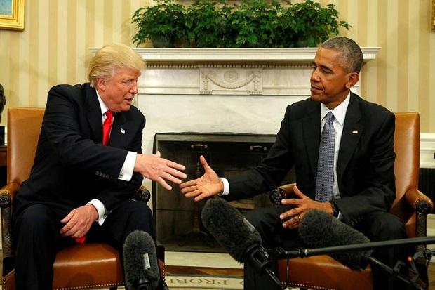 Obama Umbar Julukan Kotor untuk Trump, dari Babi Rasis hingga Bajingan Korup