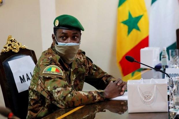 Goita, Pemimpin Kudeta dan Didikan AS yang Jadi Presiden Mali