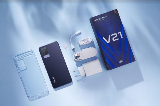 Dibanderol Rp5.799.000, vivo V21 5G sudah Bisa Dibeli Daring dan Luring