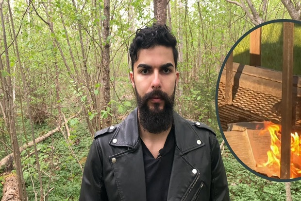 Asylum Application Rejected, This Apostate Man Burns Al-Qur'an in Sweden