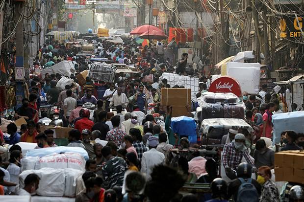 Kasus Infeksi Covid-19 Mulai Menurun, India Siap Longgarkan Lockdown