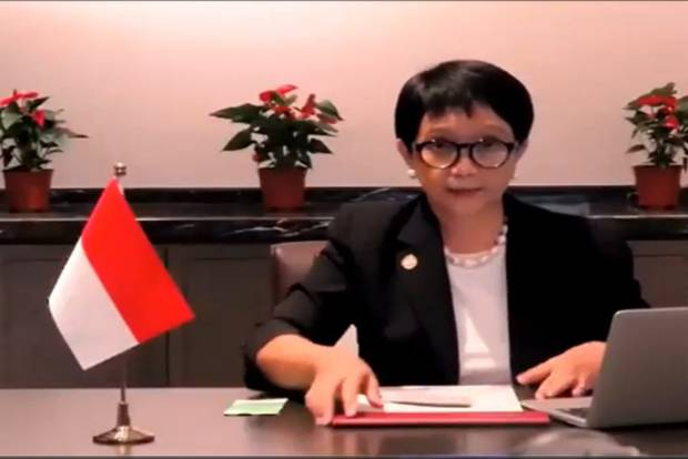 Menlu Retno: Laut China Selatan Ujian bagi Hubungan China-ASEAN