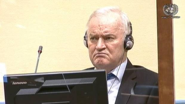 Pengadilan PBB Tolak Banding Kasus Genosida Mladic 'Penjagal Bosnia'