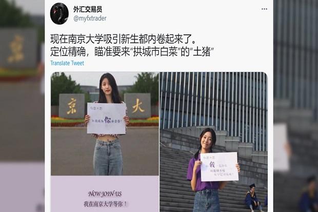 Pikat Mahasiswa Baru, Universitas China Pajang Iklan Menjurus ke Seksual