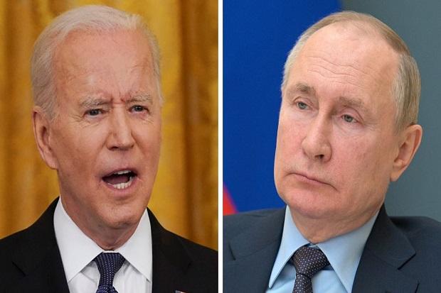 Biden kepada Putin: AS Tak Cari Konflik, tapi Akan Merespons Rusia Secara Kuat