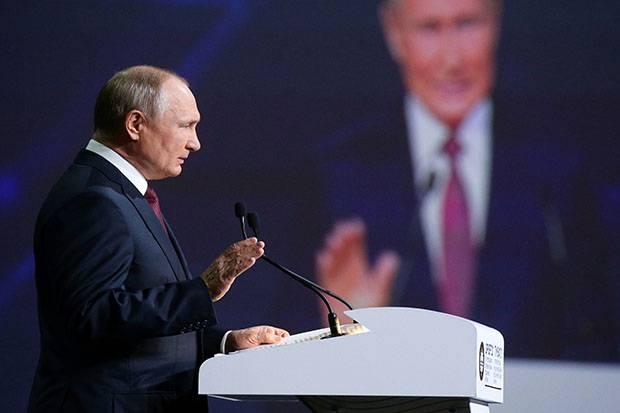 Putin Sebut Warga Ukraina Penolak Kiev Gabung NATO Sebagai Orang Cerdas