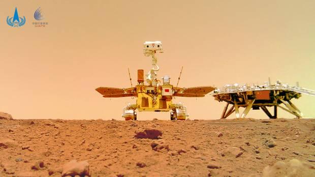 Datar dan Berbatu, China Rilis Gambar Menakjubkan dari Permukaan Mars