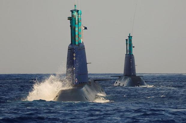 Simulasikan Serangan, Kapal Selam Zionis Tak Tahu Israel dan Hamas Perang 11 Hari