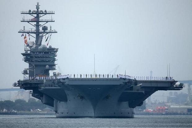 AS Akui Rudal Hipersonik Musuh Jadi Momok bagi Kapal Induknya