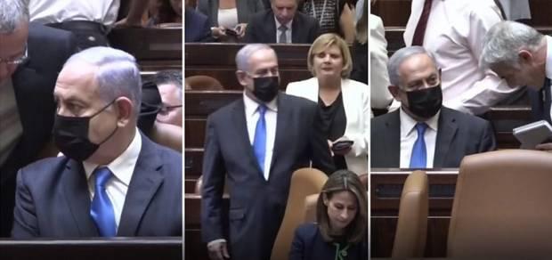 Aduh, Salah Kursi! Netanyahu Duduk di Kursi Perdana Menteri setelah Kalah Voting