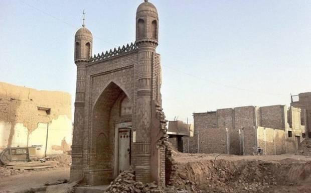 Muslim AS: Setop Proyek Hotel Hilton di Tempat Masjid Uighur yang Dihancurkan
