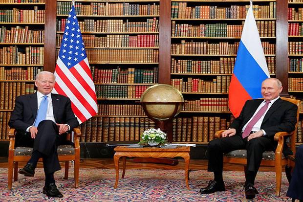 On Biden-Putin meeting, Trump: Russia wins a lot
