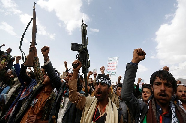 Hamas Beri Penghargaan ke Pejabat Houthi, Media Arab Saudi Marah