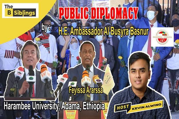 Dubes Al Busyra: Masyarakat Pegang Peran Kunci Dalam Diplomasi Publik