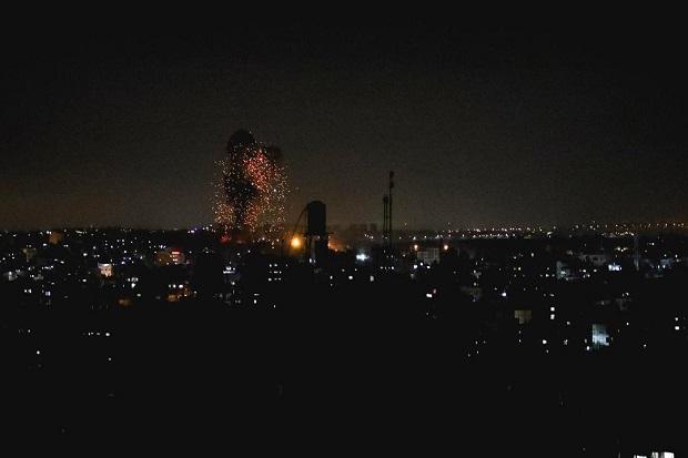 Lagi, Jet-jet Tempur Zionis Israel Bombardir Gaza