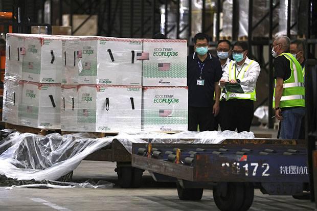 China Desak AS Tidak Lakukan Manipulasi Politik Setelah Kirim Vaksin ke Taiwan