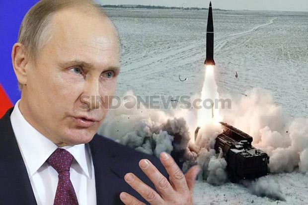 Putin Peringatkan Risiko Perlombaan Senjata Baru di Eropa