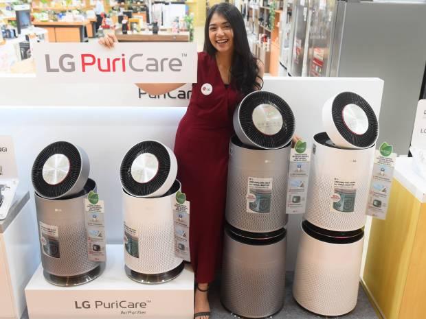 LG PuriCare 360 Air Purifier Bisa Bersihkan Udara di Ruangan 100 Meter Persegi