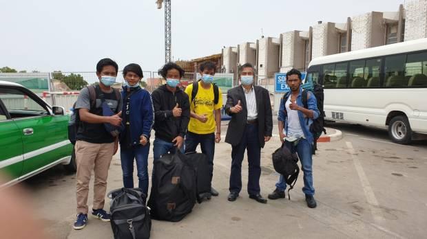 KBRI Addis Ababa, Pulangkan 10 ABK Indonesia dari Djibouti