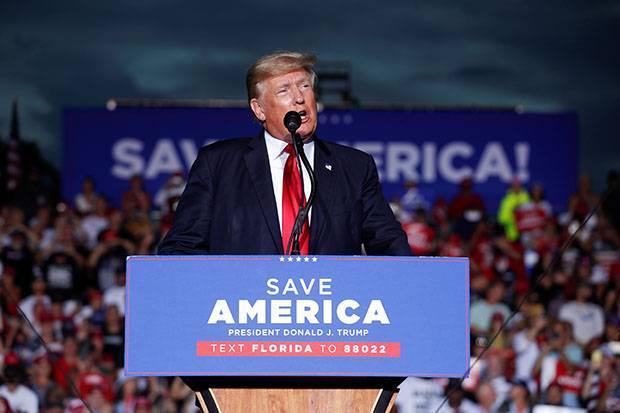 Trump Sebut Biden Lancarkan Serangan Habis-habisan Terhadap Nilai-nilai Amerika