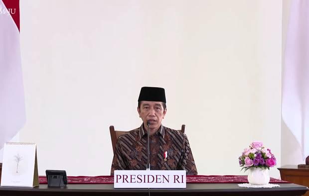 Jokowi Sampaikan Duka Cita untuk Korban Covid-19 Atas Nama Pribadi dan Negara