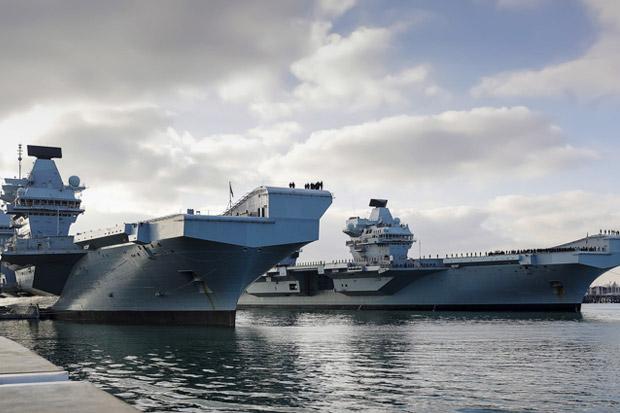 Inggris Akan Tempatkan Dua Kapal Perang Secara Permanen di Perairan Asia