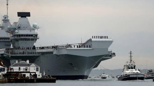 Inggris Ngotot Kerahkan Kapal Perang Secara Permanen di Laut China Selatan