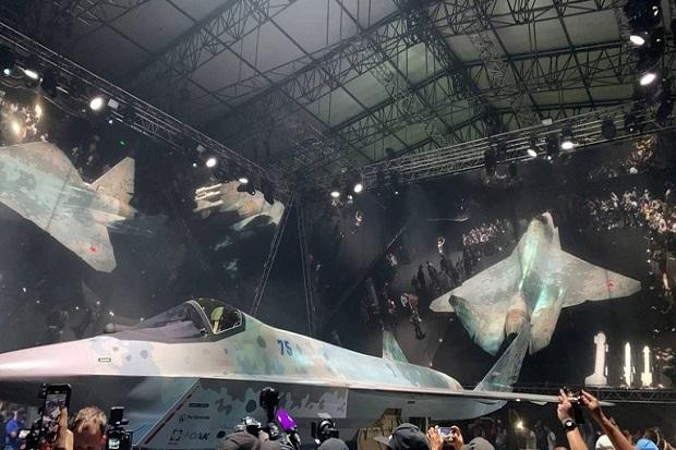 Jet Checkmate Rusia Tandingan F-35 AS: Berteknologi AI, Bisa Tembak 6 Target Sekaligus