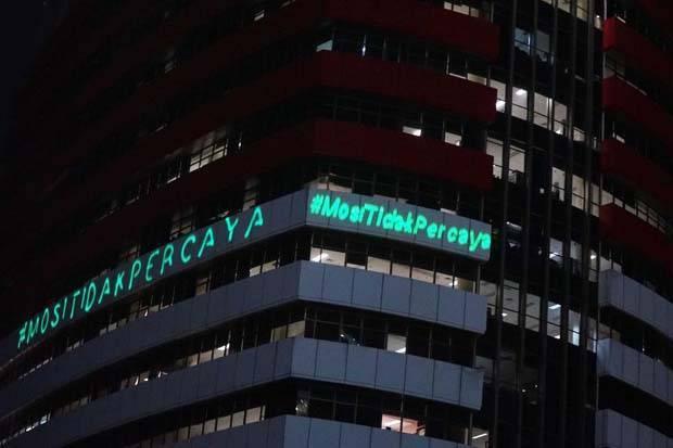 KPK Sebut Kritik Greenpeace Indonesia melalui Aksi Laser Tidak Normal