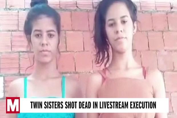Mengerikan, 2 Perempuan Kembar Dieksekusi Tembak dan Disiarkan Langsung di Instagram