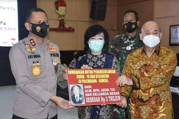 Politikus PDIP: Sumbangan Rp2 Triliun Akidi Tio Jadi Inspirasi di Tengah Pandemi