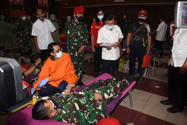 Peringati HUT ke-76 Kemerdekaan Indonesia, Kopassus Gelar Donor Darah