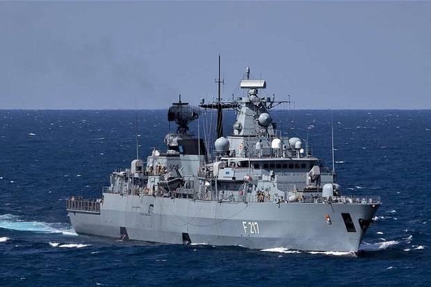 Jerman Kirim Kapal Perang ke Laut China Selatan untuk Pertama Kalinya