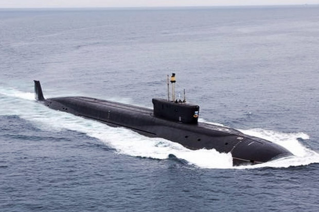 Kapal Selam Nuklir Rusia Jalankan Misi Penetrasi ke Dalam Misterius di Atlantik