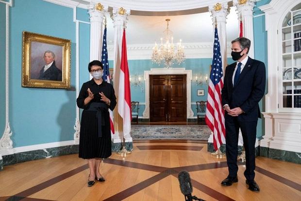 AS dan Indonesia Inginkan Kebebasan Navigasi di Laut China Selatan