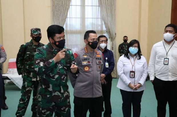 Pimpin Rapat Penanganan Covid-19 di Kalsel, Panglima TNI Minta Optimalkan 3T