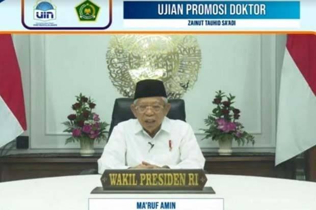 Wapres: Disertasi Wamenag Tawarkan Perspektif Baru Politik Islam Indonesia