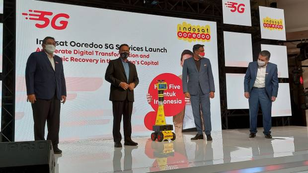 Susul Solo, Indosat Ooredoo Resmi Hadirkan 5G di Jakarta