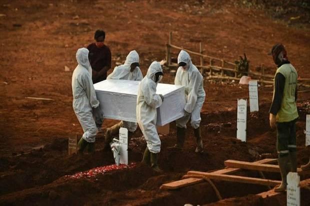 Satgas Covid-19: Angka Kematian di Indonesia Masih di Atas Rata-rata Dunia