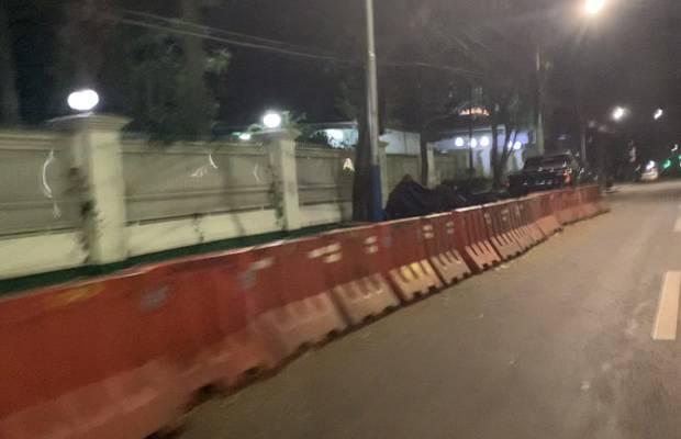 Megawati Diisukan Kritis, Ini Penampakan Penjagaan di Rumah Jalan Teuku Umar